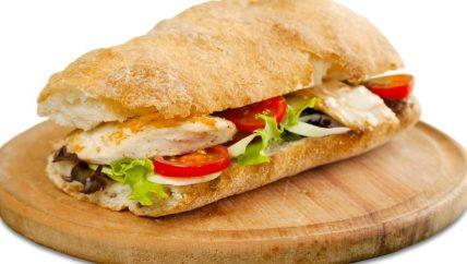 ljs par and grill Classic Chicken Sandwich