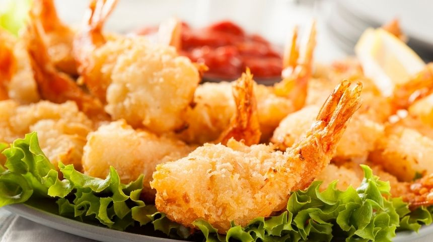ljs par and grill Fried Shrimp