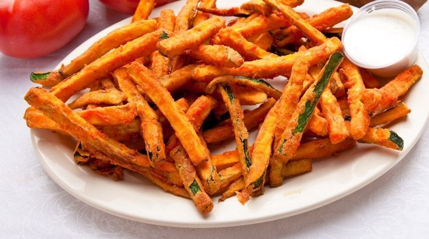 ljs par and grill Fried Zucchini