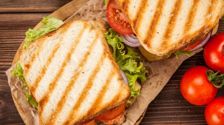 ljs par and grill Grilled Aloha Chicken Sandwich
