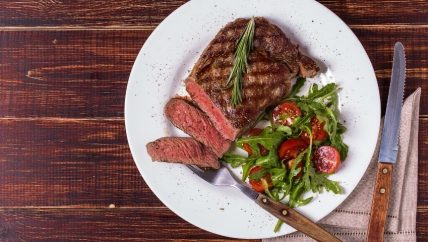 ljs par and grill Ribeye Steak