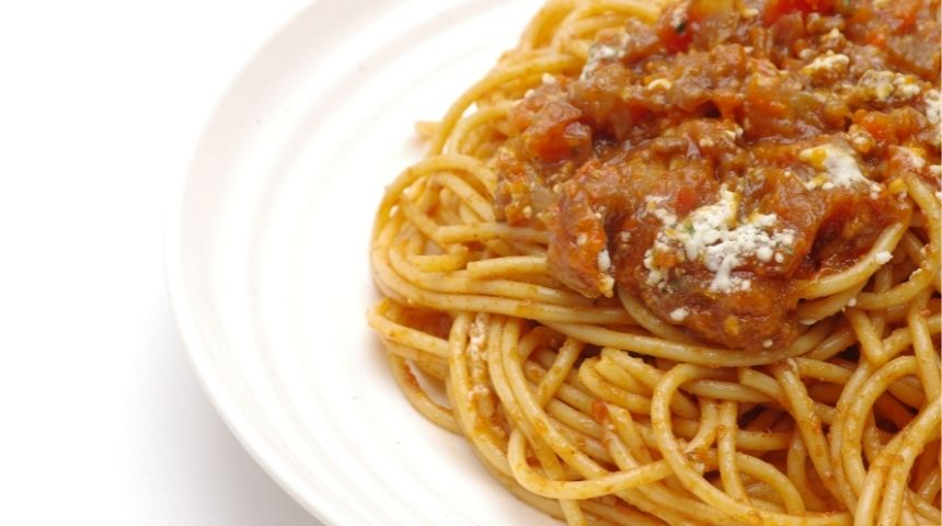 ljs par and grill Spaghetti with Meat Sauce